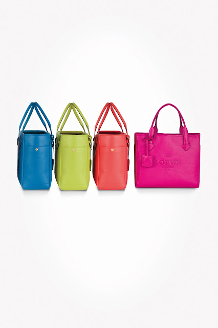 "Loewe Soft Calf ""Heritage"" Small Tote Fall/Winter 2012-13"