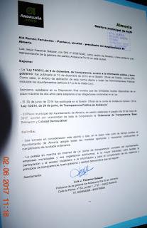 Transparencia Almería