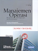 MANAJEMEN OPERASI Manajemen Keberlangsungan dan Rantai Pasokan EDISI 11 (Disertai CD BOOK) – Operations Management: Sustainability and Suply Chain Management