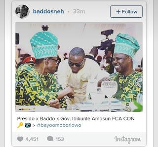Olamide Shakes Buhari