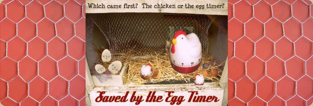 Saved by the Egg Timer