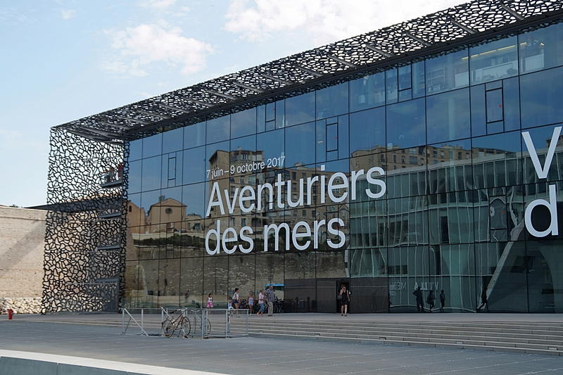 MuCEM museum architecture in Marseille, France // MuCEM Museum Architektur in Marseille