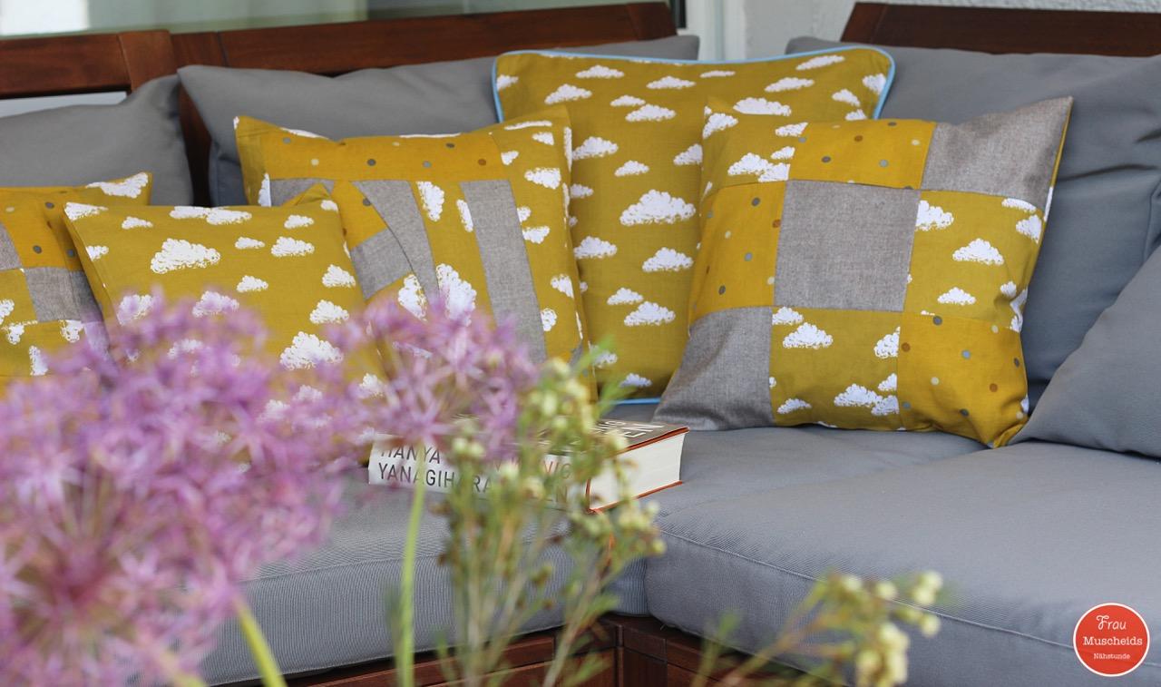 frau muscheids n hstunde kissen f r die neue sommerlandschaft. Black Bedroom Furniture Sets. Home Design Ideas