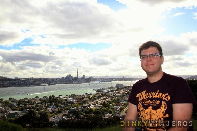 Vistas de Auckland desde el Mount Victoria de Devonport
