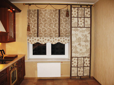 new ideas for kitchen roman blinds and kitchen curtains designs