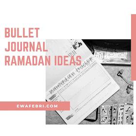 bullet journal ramadan ideas