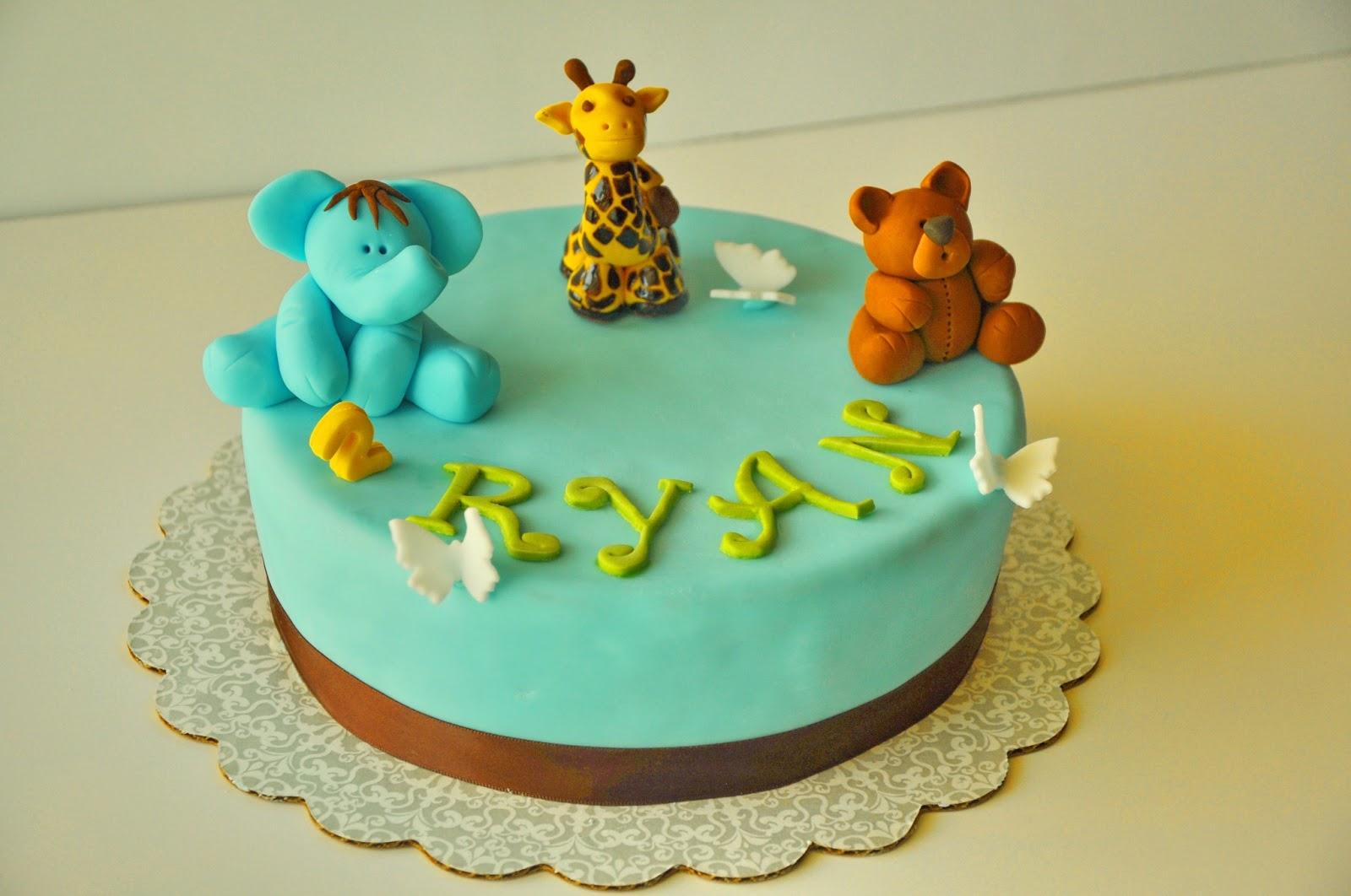 Easy Birthday Cake Ideas For 3 Year Old Boy