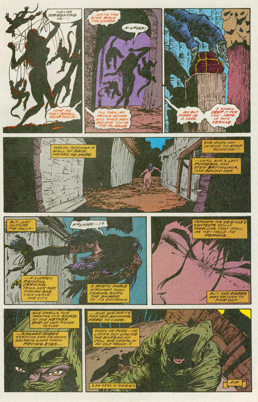 Read online Conan the Adventurer comic -  Issue #13 - 25