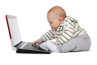 Image: Baby on Laptop, by PublicDomainPictures on Pixabay
