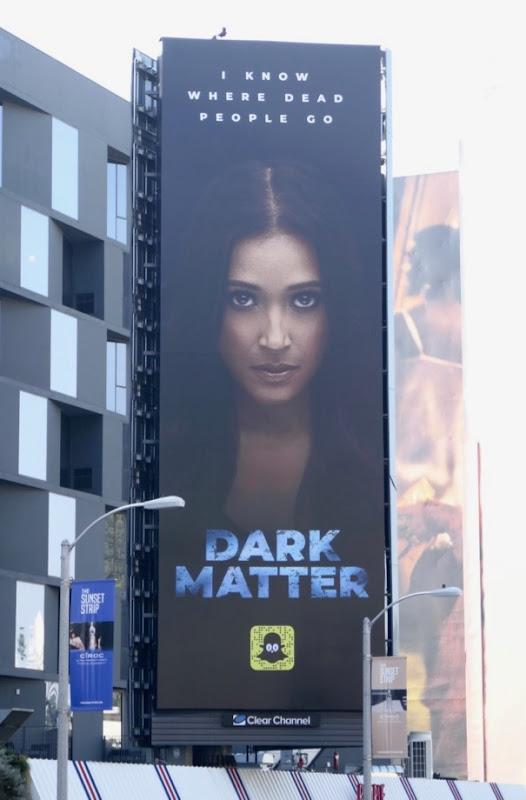Dark Matter Snap story billboard