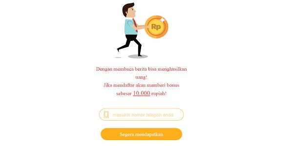 Aplikasi News Cat Penghasil Uang Gratis di ANdroid