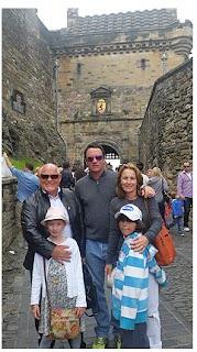 Scott Hend's family