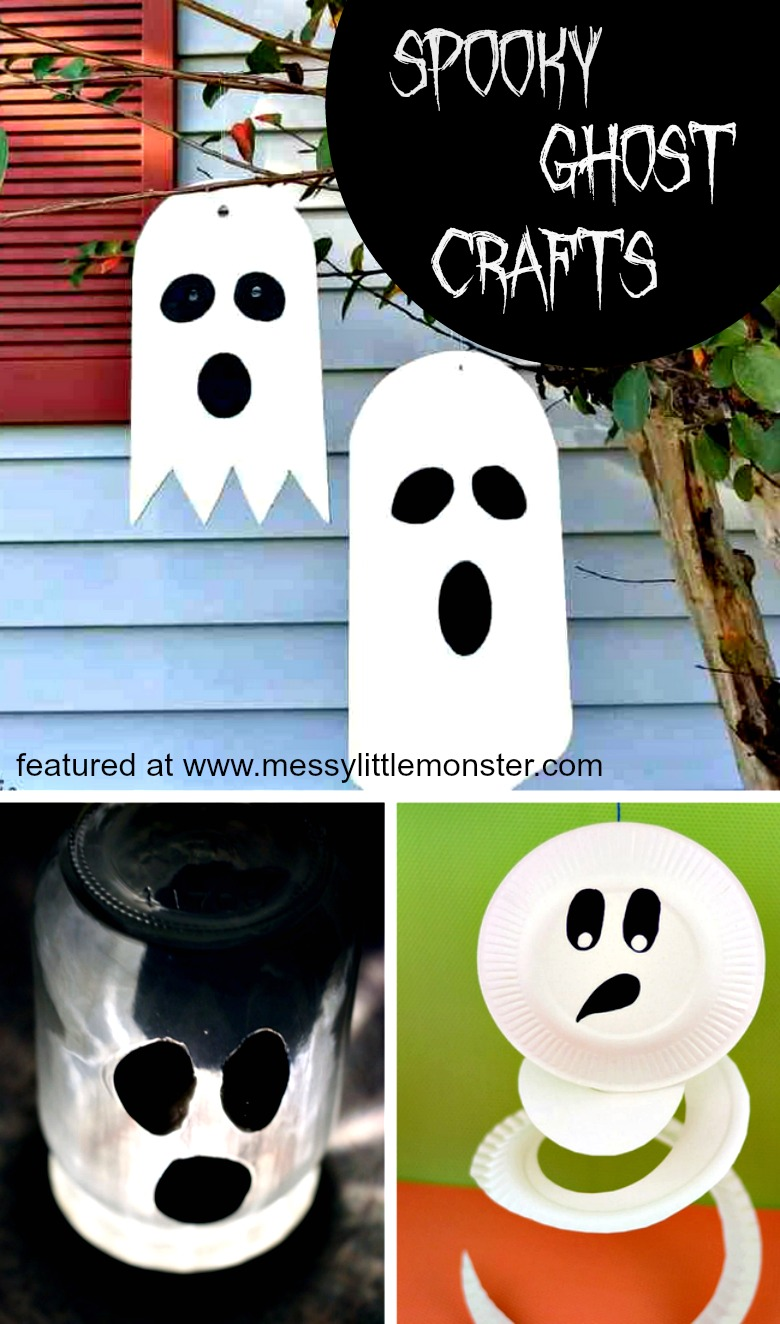halloween ghost crafts for kids - 12 spooky ghost craft ideas