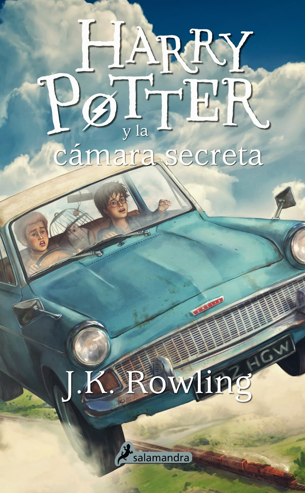 Reseña: Harry Potter y la cámara secreta, de J.K. Rowling