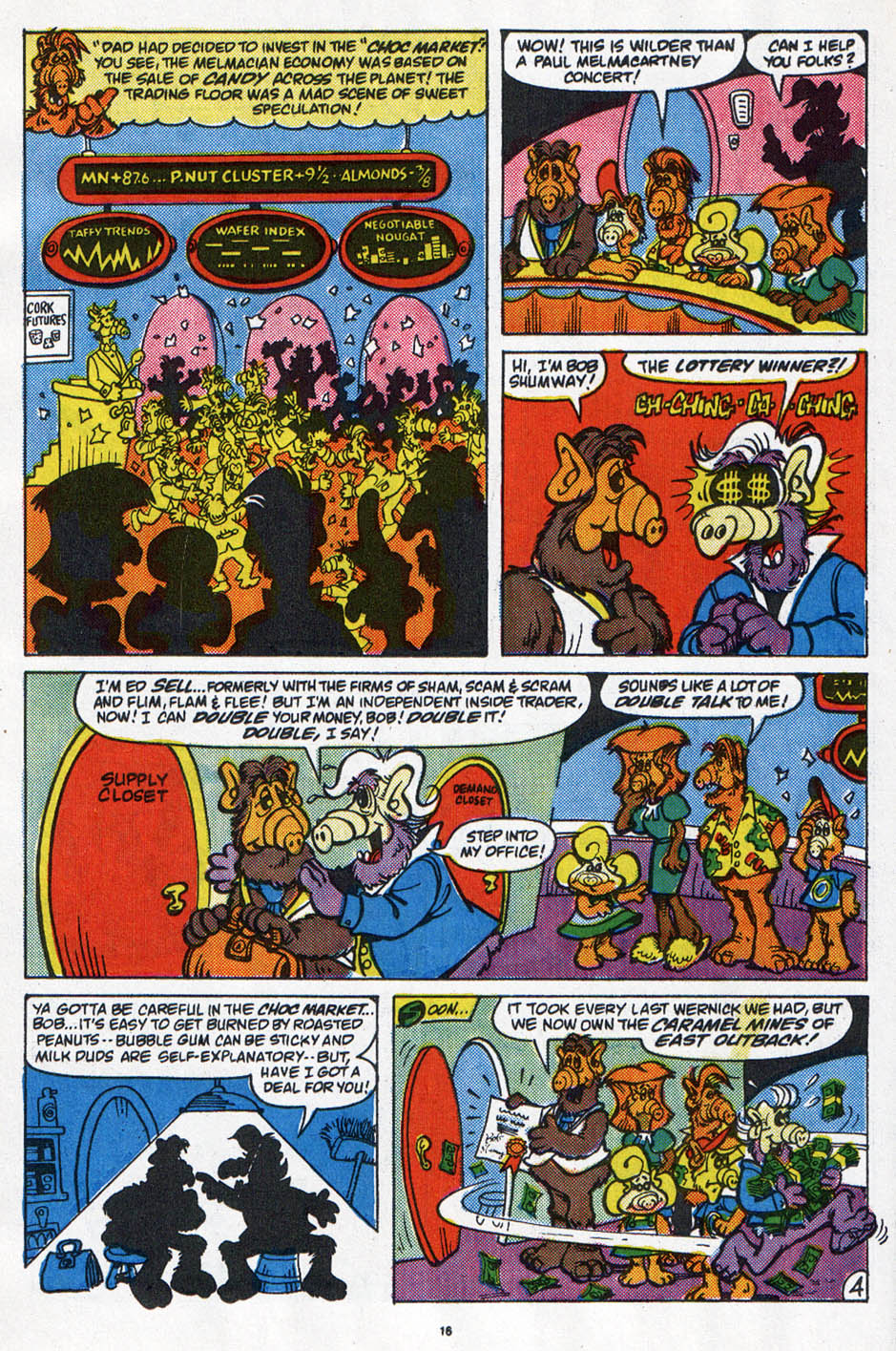 Read online ALF comic -  Issue #6 - 13