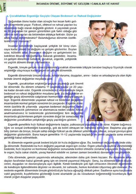 8. Sınıf Öğün Yayınları Fen Bilimleri Ders Kitabı Cevapları Sayfa 34