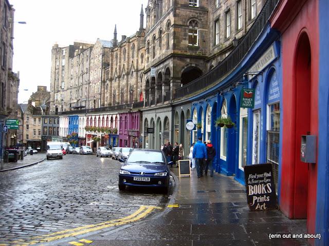 {ErinOutandAbout} Edinburgh
