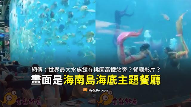世界最大水族館在桃園高鐵站旁 己開幕了 世界一流水準 也算台灣之光 帶你先睹為快 影片 謠言