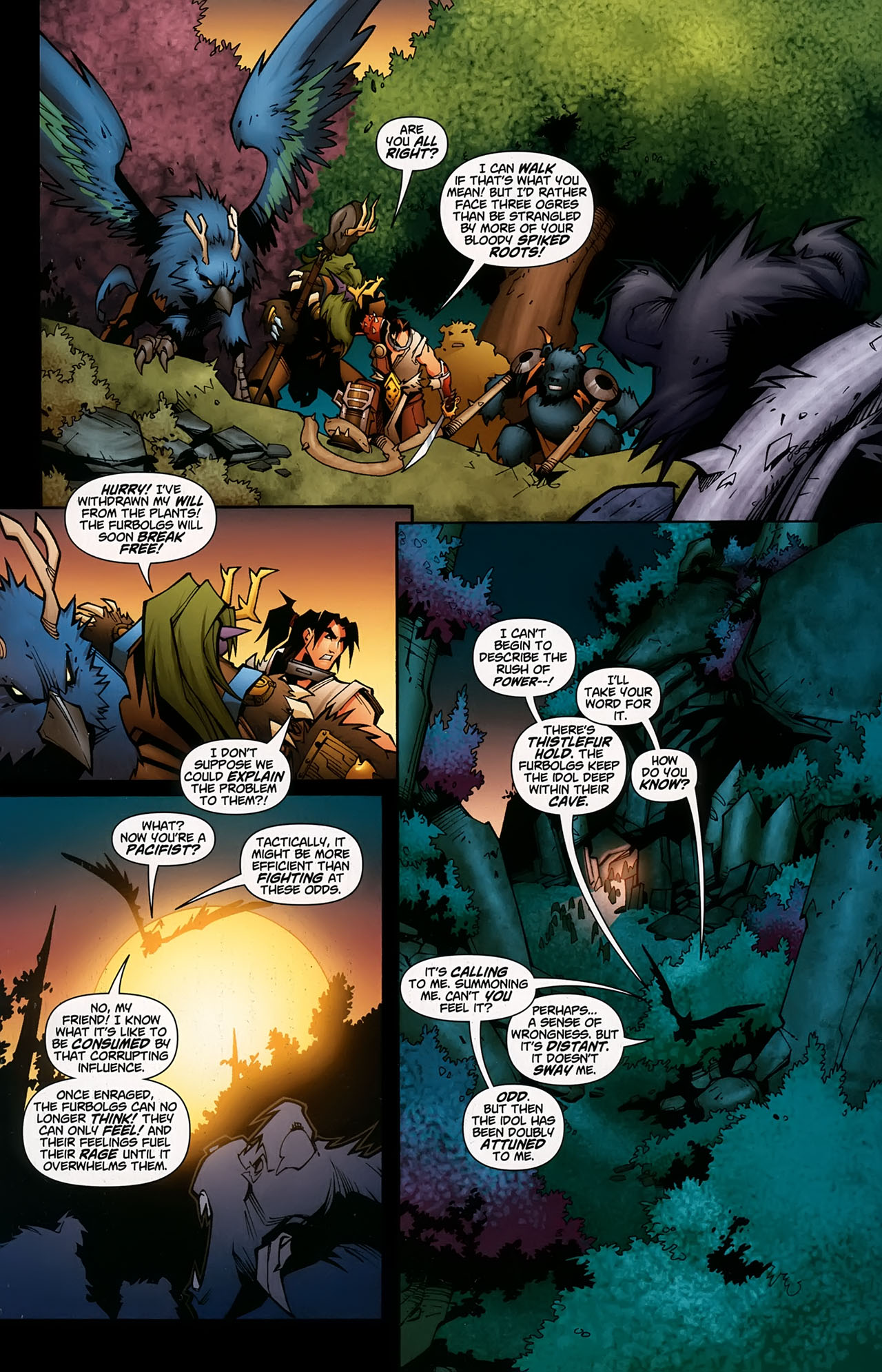 Read online World of Warcraft comic -  Issue #5 - 9