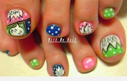 Lindisima Blog: 14 Diseños para las uñas de tus pies