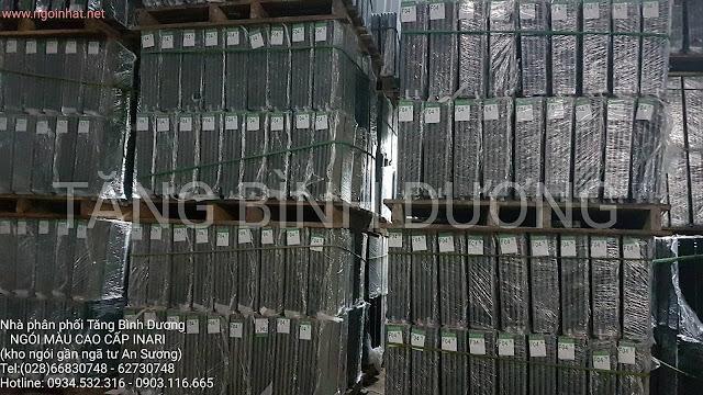 nhập bổ sung 1200m2 ngói lợp và phụ kiện