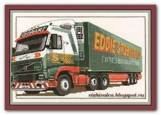 """Heritage Crafts Серия: Other CED489 """"Eddie Stobart Truck"""""""