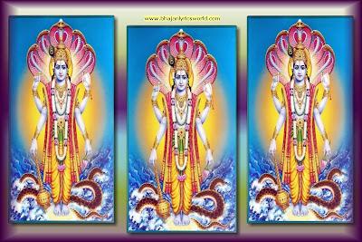 Vishnu  Chalisa, Vishnu, Bhajan Lyrics