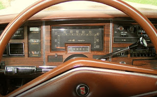 1976 Chrysler New Yorker Brougham Speedometer & RPM