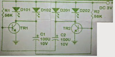 Membuat Lampu FLIP-FLOP Denagn Mudah