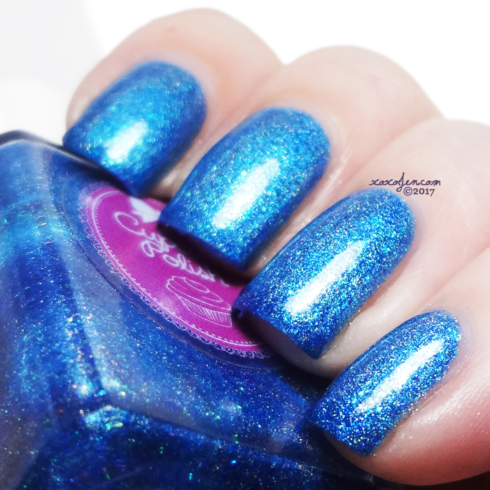 xoxoJen's swatch of Cupcake Mystic Blue