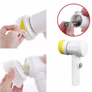 Handheld Electric Cleaning Brush
