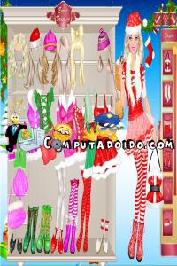 computadoido jogos Jogos de vestir a Barbie mamãe noel