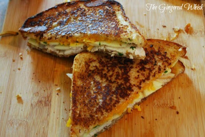 Grilled Turkey and Apple Sandwich (The Gingered Whisk)