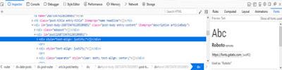 Cara Mengetahui Jenis Font Pada Website atau Blog Tertentu