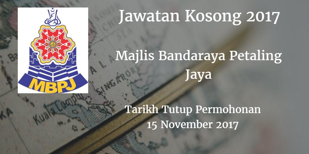 Jawatan Kosong BPJ 15 November 2017