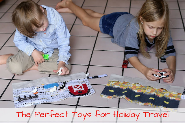Perfect Toys for Holiday Travel from Mouse Loves Pig