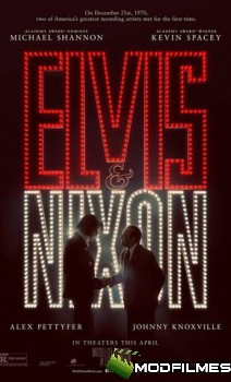 Capa do Filme Elvis & Nixon