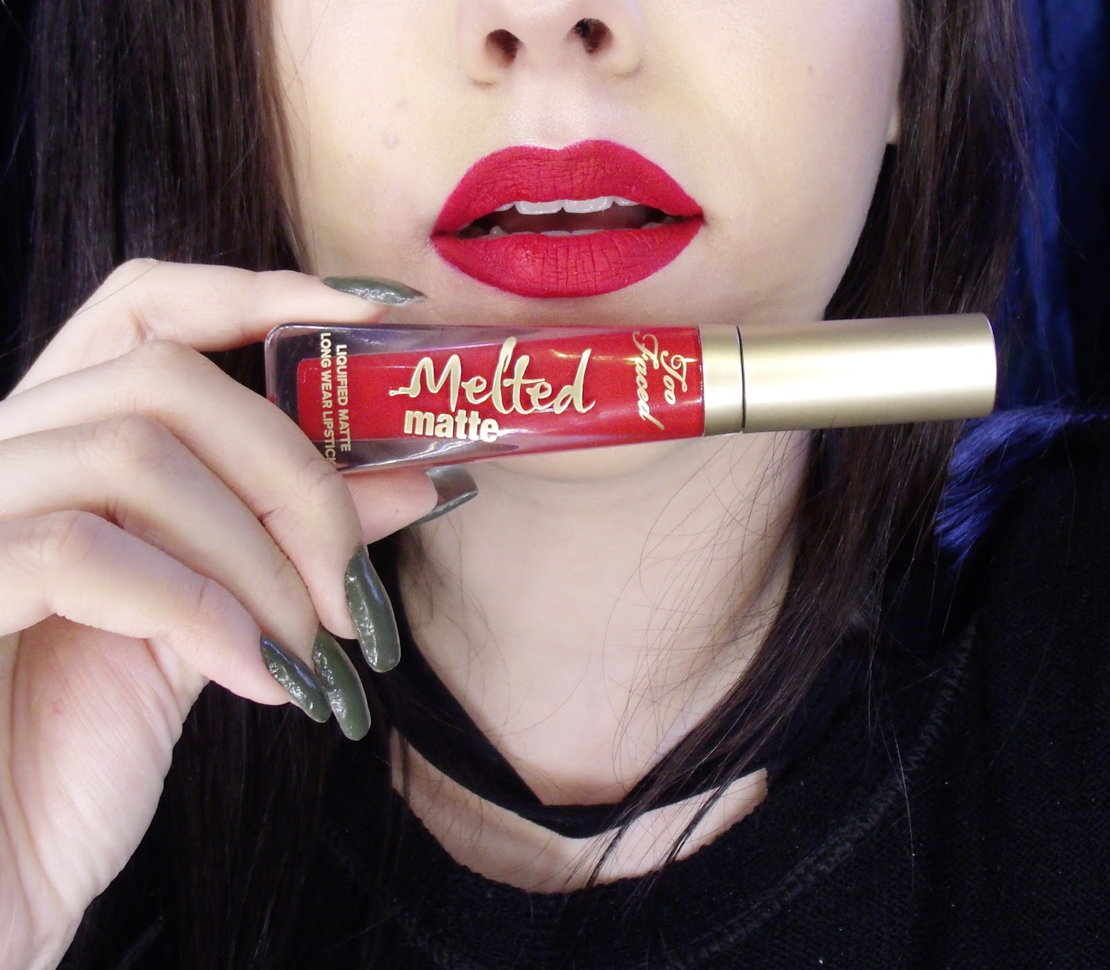 TESTEI E GOSTEI: MELTED MATTE NA COR LADY BALLS DA TOO FACED