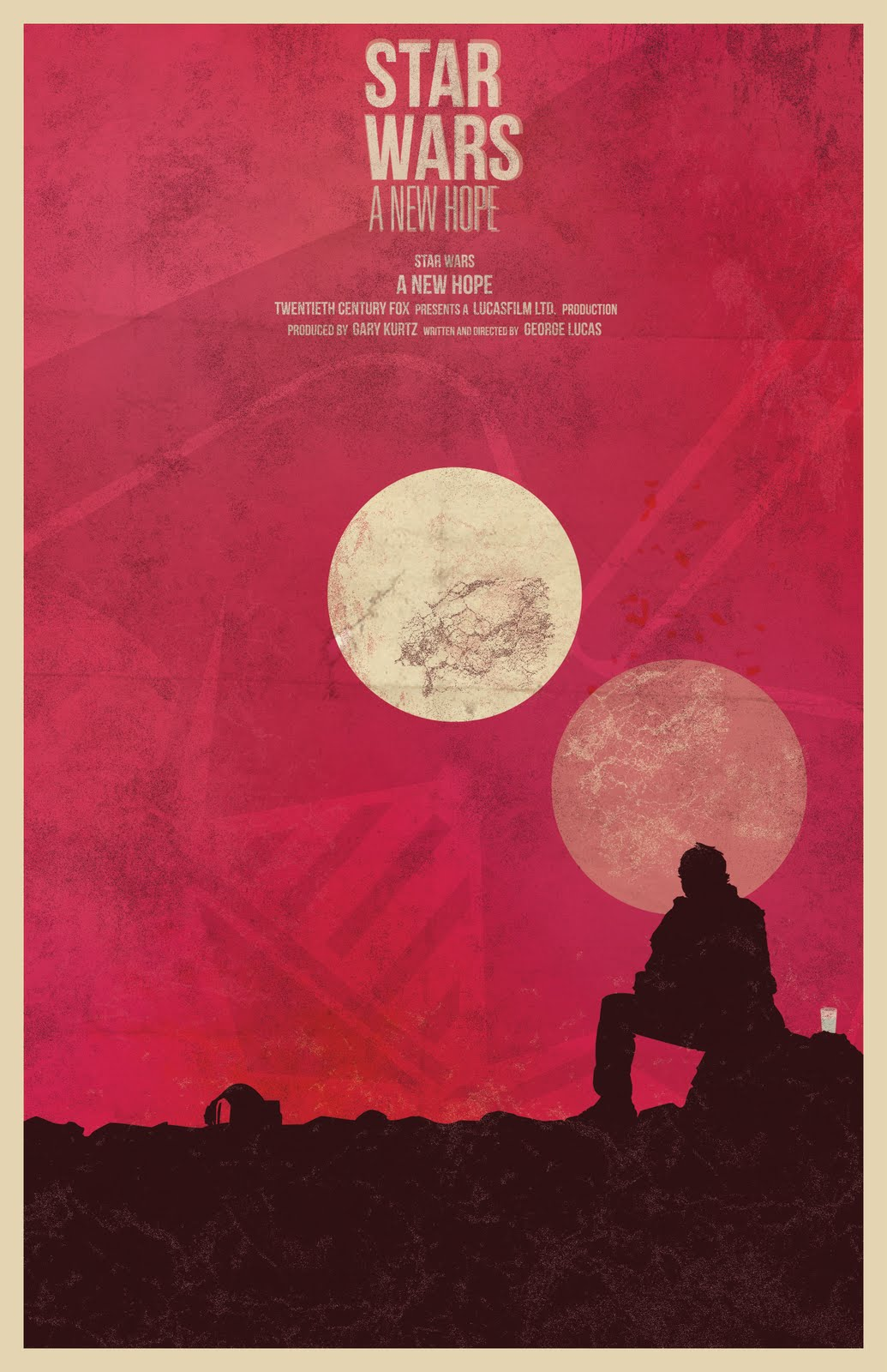 The Geeky Nerfherder: Movie Poster Art: Star Wars (1977)