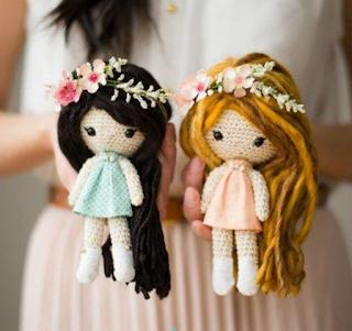 free crochet dolls patterns