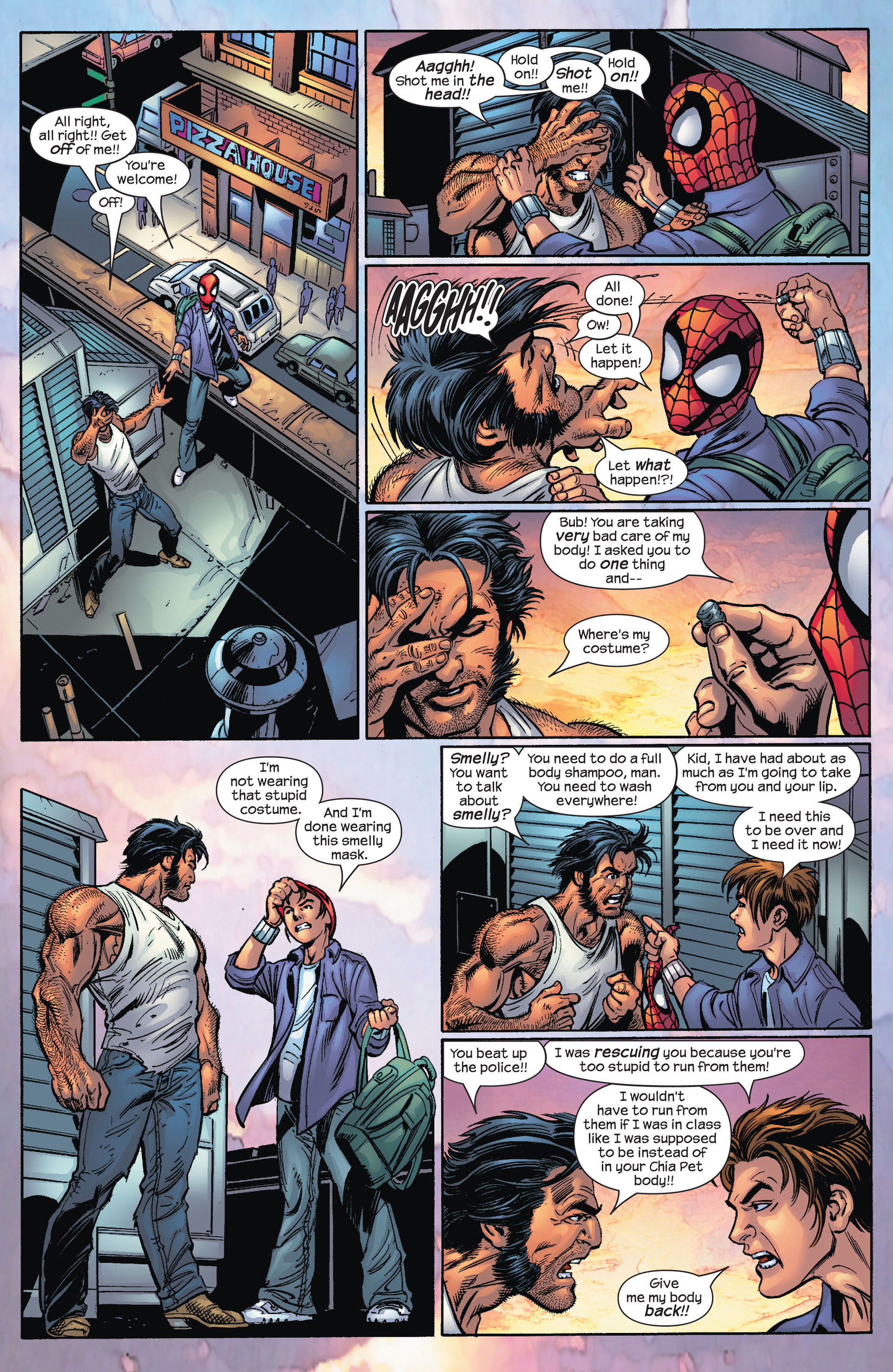 Read online Ultimate Spider-Man (2000) comic -  Issue #67 - 16