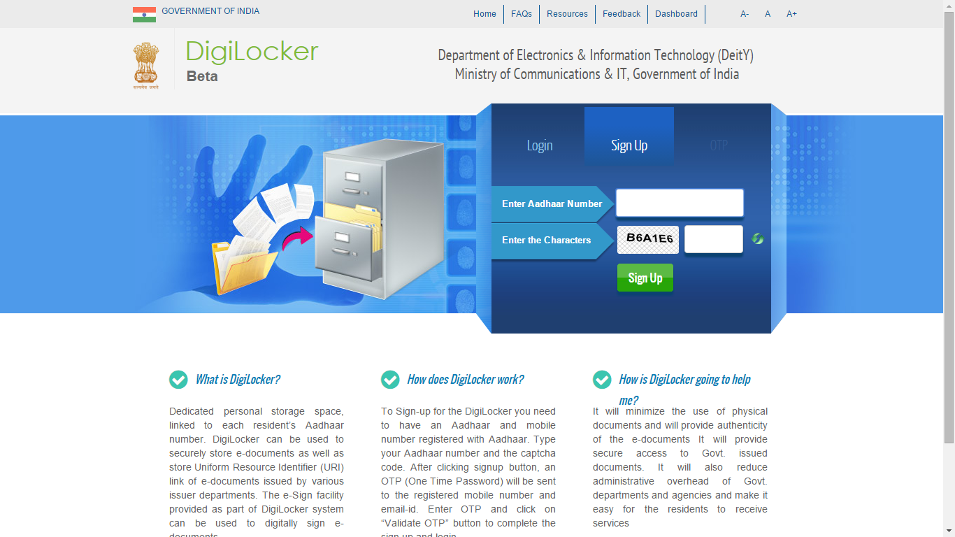 digilocker service