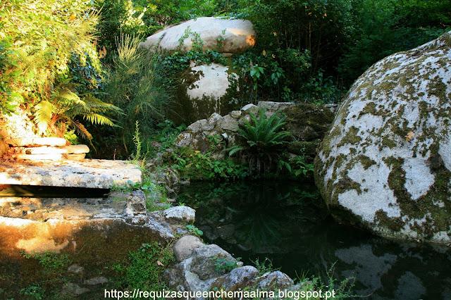 Lago dos Peixes, Parque do Palácio da Pena,