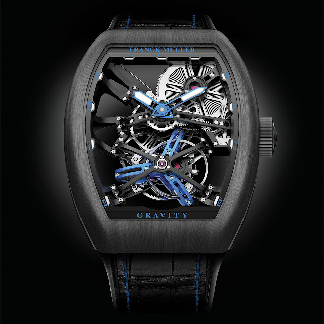 Franck Muller V45 SQT Serie Tourbillon Skeleton Watch