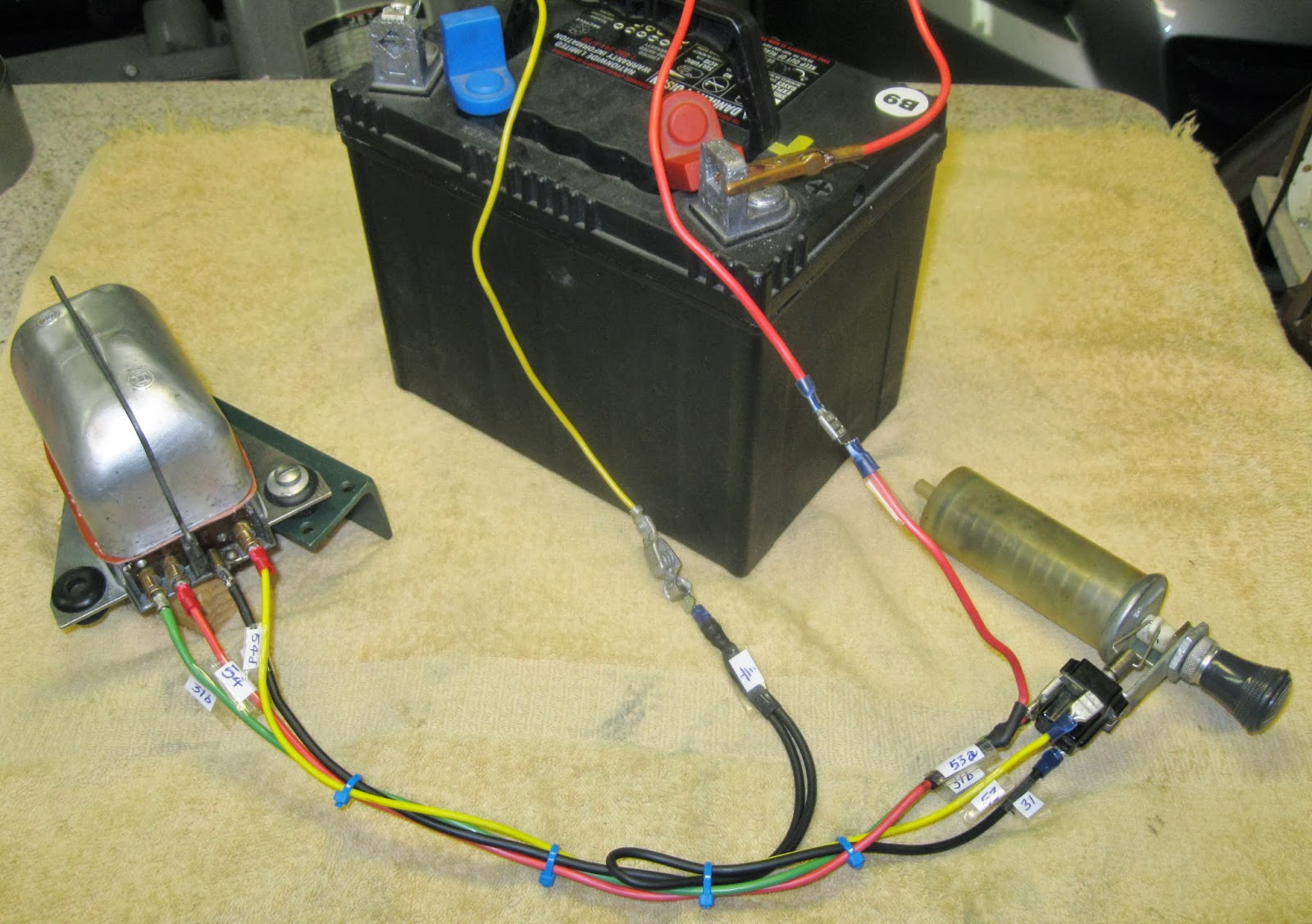 how to test windshield wiper motor how to wire a wiper motor to a switch