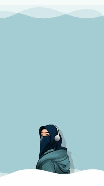 Gambar kartun muslimah dewasa