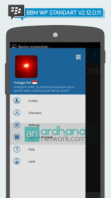 Preview BBM Windows Phone Standart