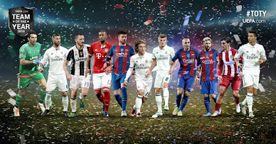 UEFA: El Once Ideal 2016