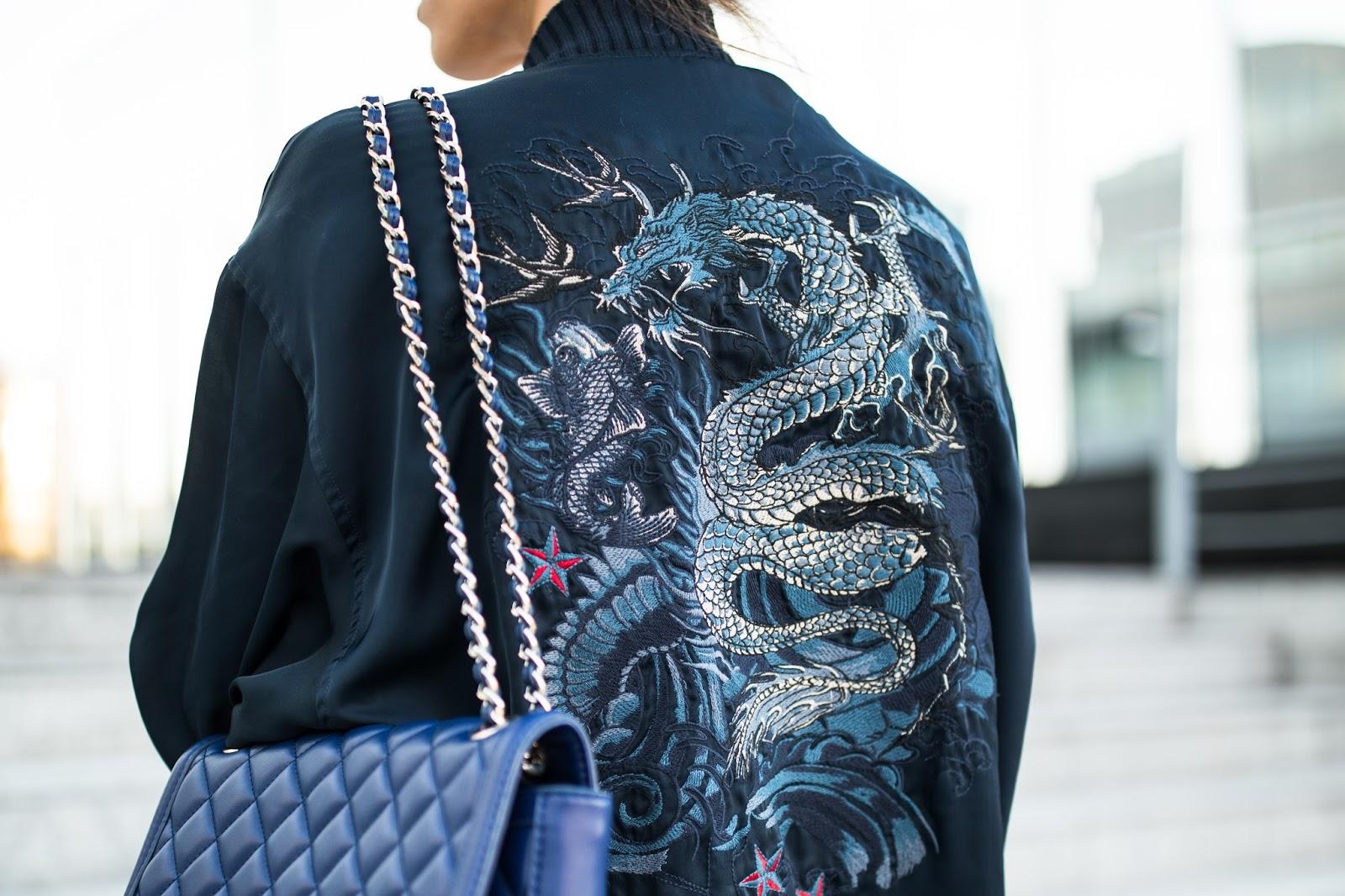 jean paul gaultier snake embroidery kimono