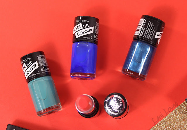 Collection Work the Colour Nail Polish swatches & review